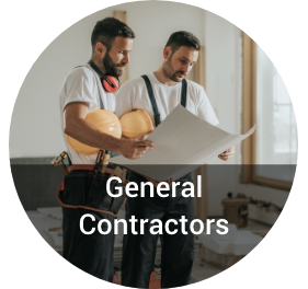 General contractor talking to subcontractor on a jobsite image