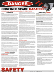 Image Confined Space General Poster