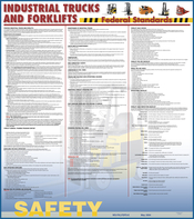 Federal Forklift Safety Poster